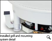 Grill and mounting system detail